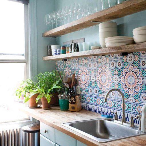 Cambios sin obras. Azulejos cocina
