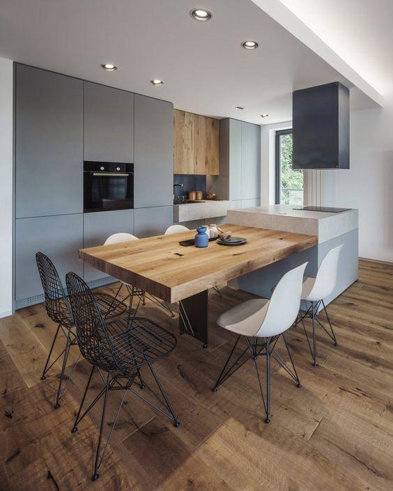 Tipos de mesas de cocina