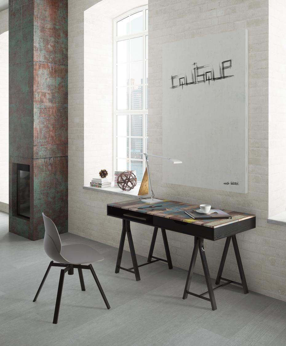 Metal en los muebles