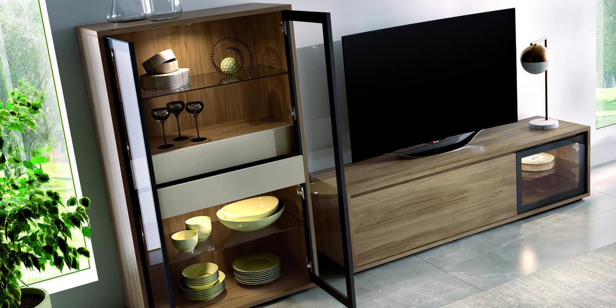 05 – Salón inspirado en la búsqueda por encontrar ambientes que se adaptan a espacios reales y con las tendencias actuales.