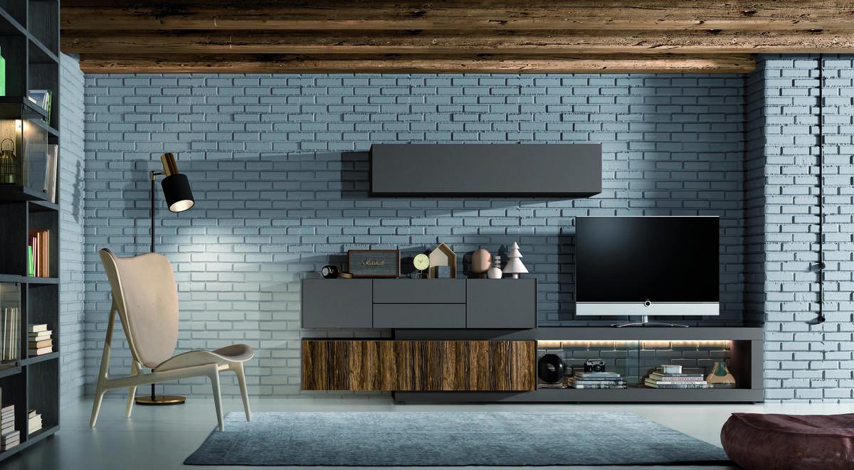 11 – La exigencia de construcción moderna y las altas tecnologías utilizadas hacen de esta composición una pieza que dota a los espacios de pureza y gusto hacia las estructuras simples y elegantes. 300 x 170 x 45,2 cm.