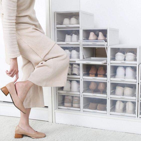 ordenar zapatos