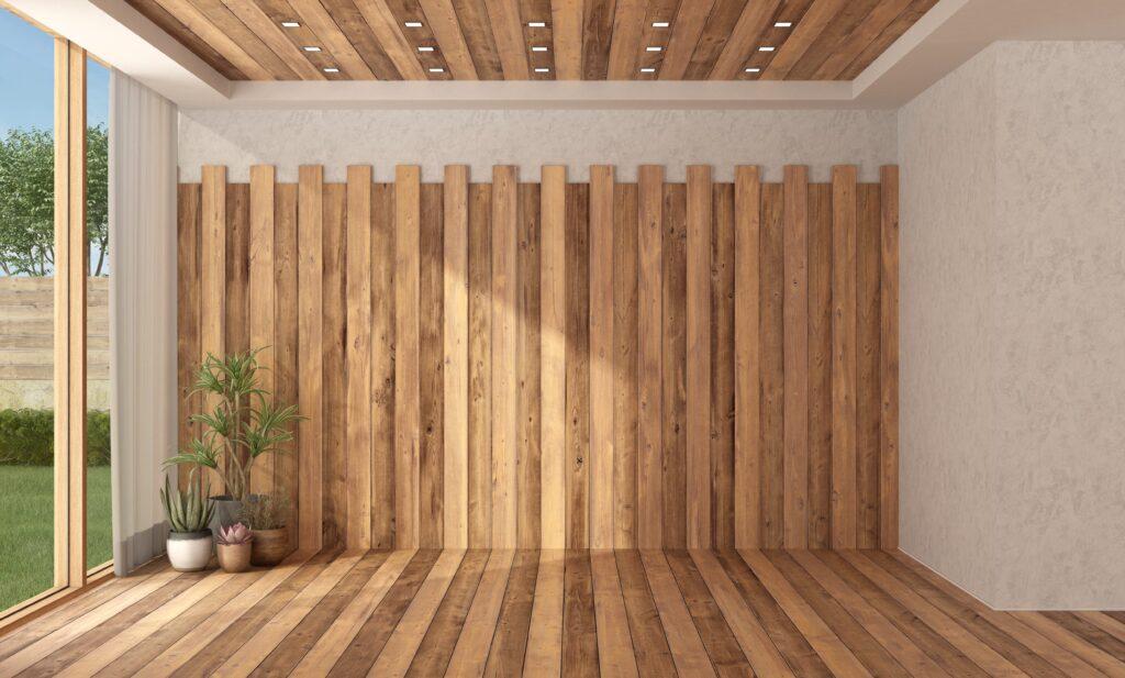 Monocolor en techo y pared